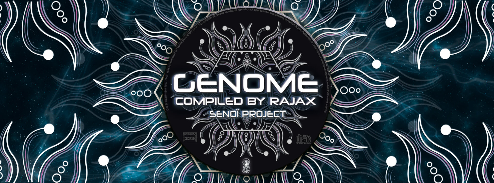 ► [LABEL] V.A GENOME – COMPILED BY RAJAX – OUT NOW